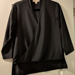 Michael Kors Size XS Black Blouse